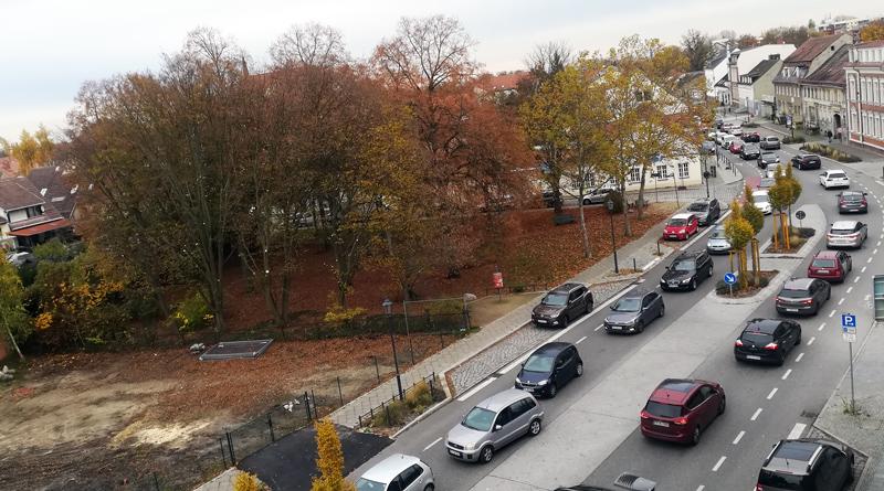 Teltow: Stau wegen Sperrung am Zeppelinufer