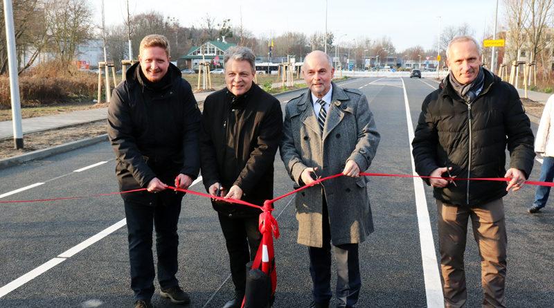 Eine kleine Entlastung für Autofahrende in der Region: Die Biomalzspange wurde am 13. Dezember 2019 freigegeben.