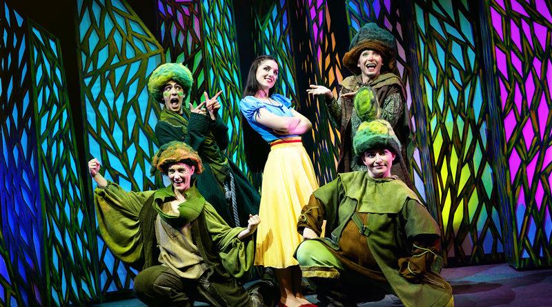 Schneewittchen als Musical für die ganze Familie - Theater Liberi präsentiert den Märchenklassiker im Klubhaus Ludwigsfelde.